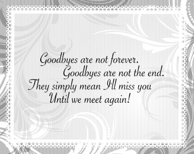 Quotes: Farewell Quotes