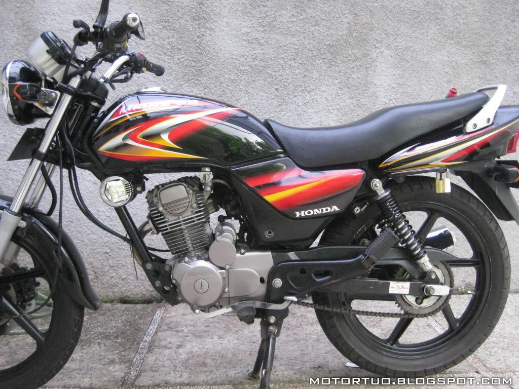 Spesifikasi Honda Mega Pro 160 Generasi Kedua Honda Gl