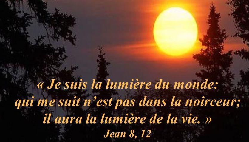 Jésus nous dit: