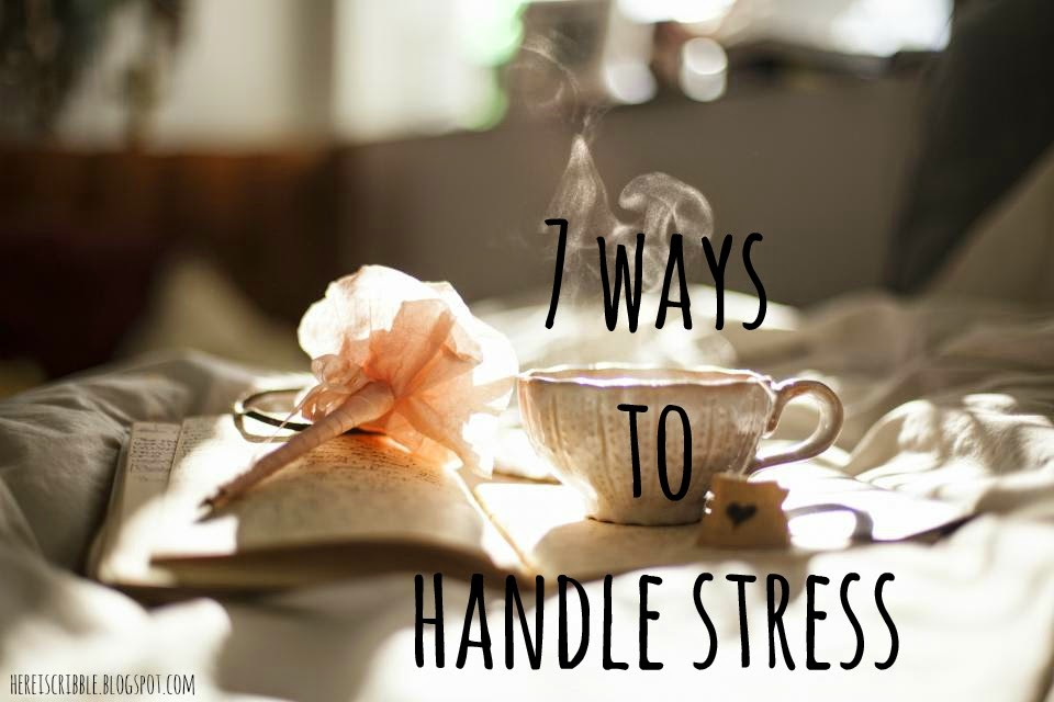 7-ways-to-handle-stress