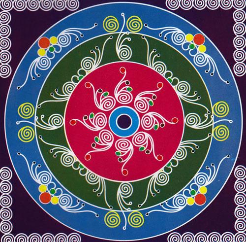 40 Beautiful Rangoli Designs for Festive Ocassions ~ Desizn World