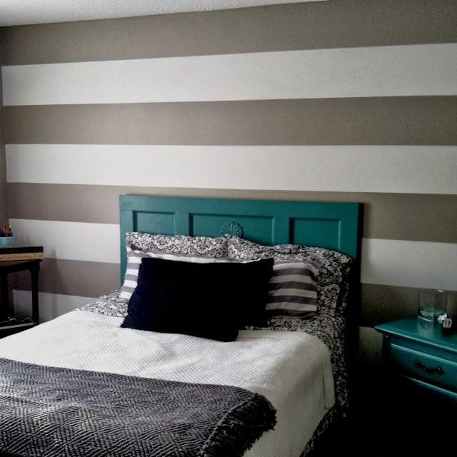 Architettarte idee per le pareti della camera da letto - Imbiancatura camera da letto ...