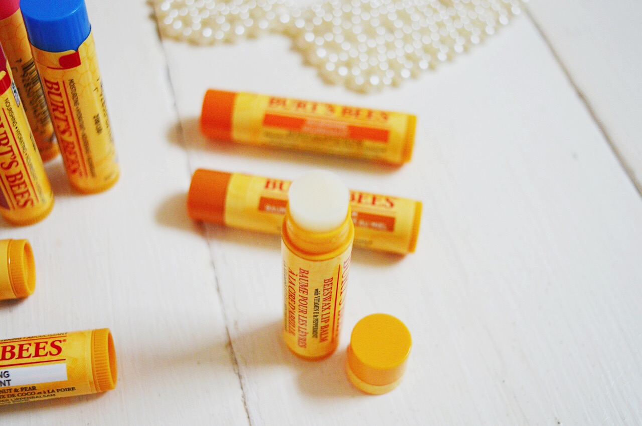 Burt's Bees lip balm review, beauty bloggers, FashionFake, dry lips in winter