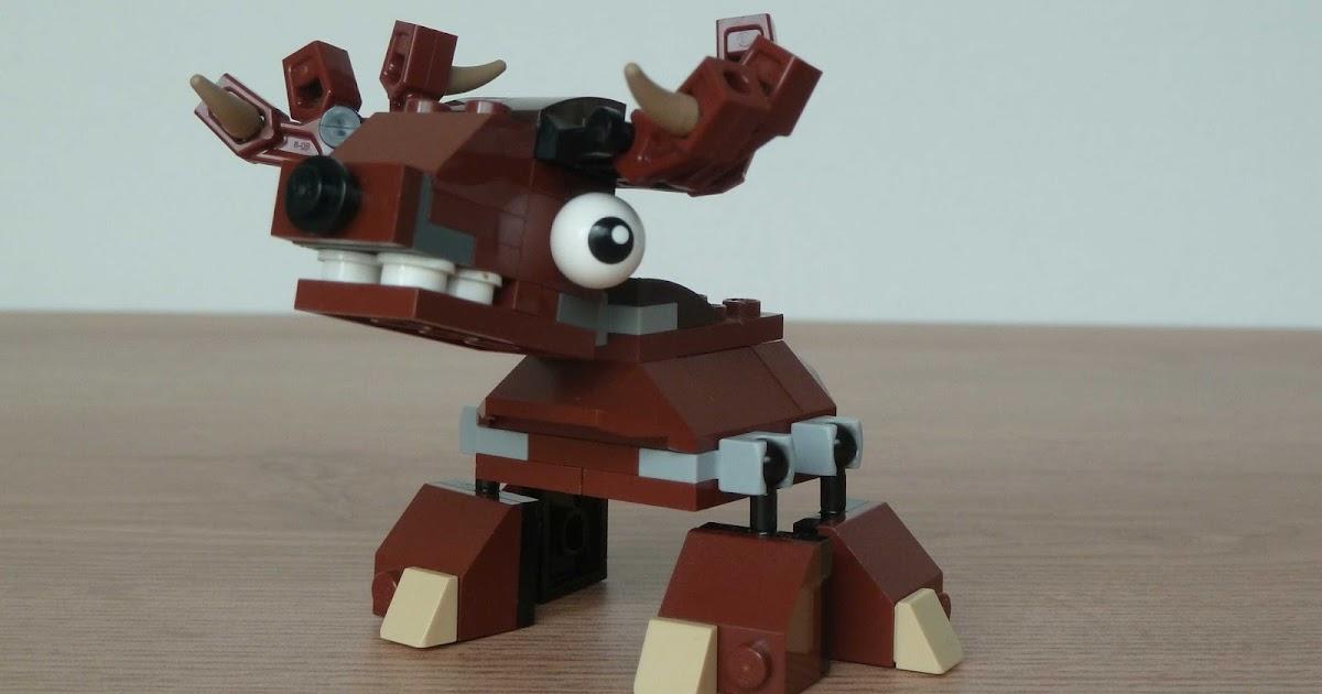 Totobricks Lego Mixels Moc Instructions Christmas Tribe Reindeer