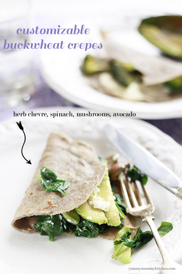 Buckwheat Crepes (gluten free) | Yummy Mummy Kitchen | A Vibrant ...