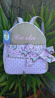 mochila escolar personalizada
