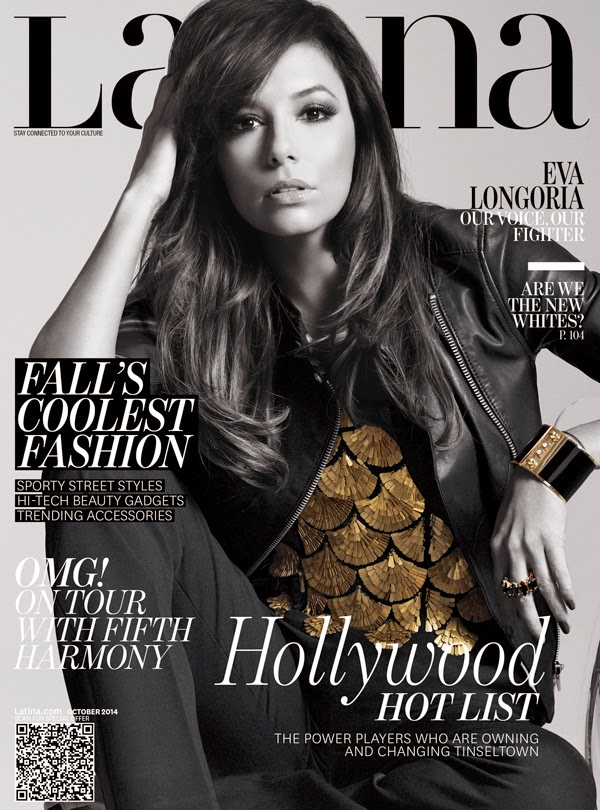 Eva Longoria on Latina Magazine