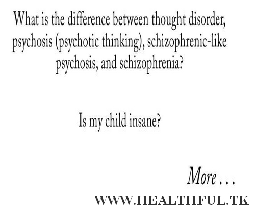Child's Schizophrenia