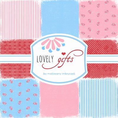 """Obejrzyj kolekcję papierów mojego autorstwa - """"Lovely gifts"""""""