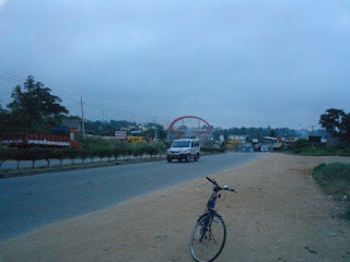 Kengeri Bridge seen from the Sounth