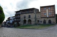 Santillana del Mar - Les cases de l'Àliga i de la Parra