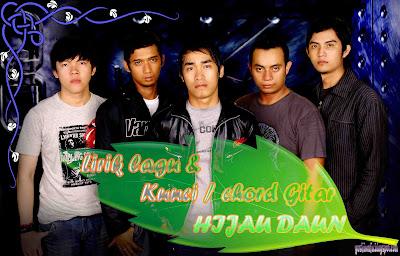 Chord Gitar Hijau daun Jatuh
