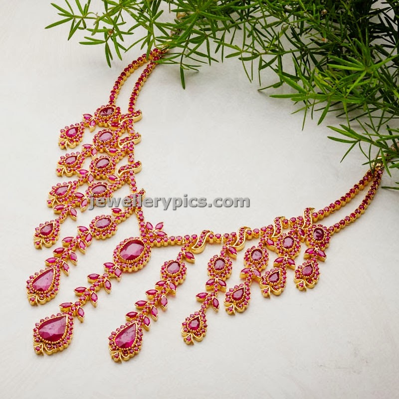 avr swrnamahal elite ruby jewellery