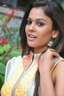 Actress Chandini Latest Pictures in Salwar Kameez at Kiraak Movie Opening 0029