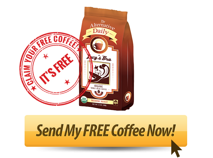 GET YOUR BAG OF FREE ORGANIC COFFEE