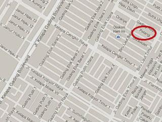 peta lokasi toko souvenir jakarta