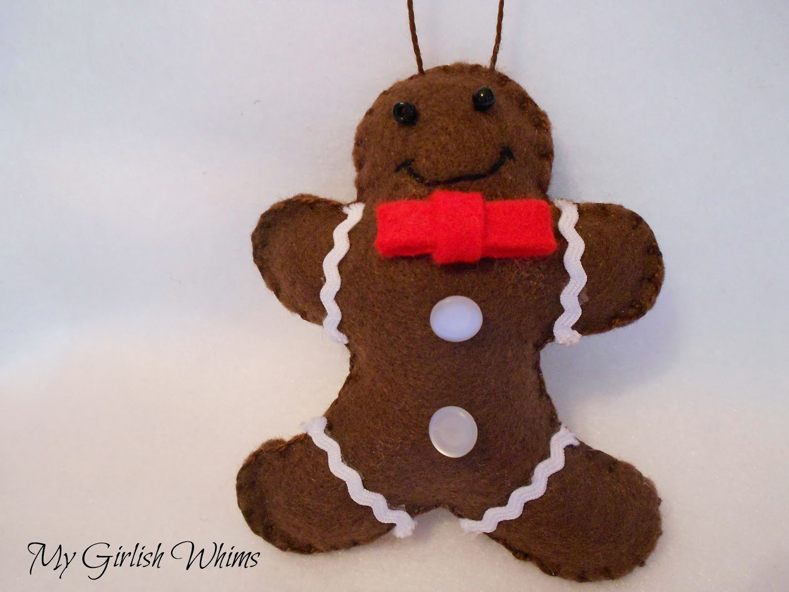 Gingerbread man ornaments - I Ll Be Linking Up To These Parties