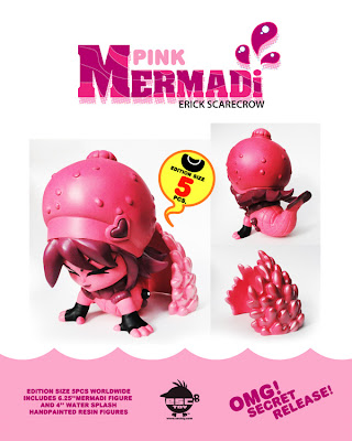 ESC Toy - Pink Mermadi Resin Figure 2 Piece Set by Erick Scarecrow