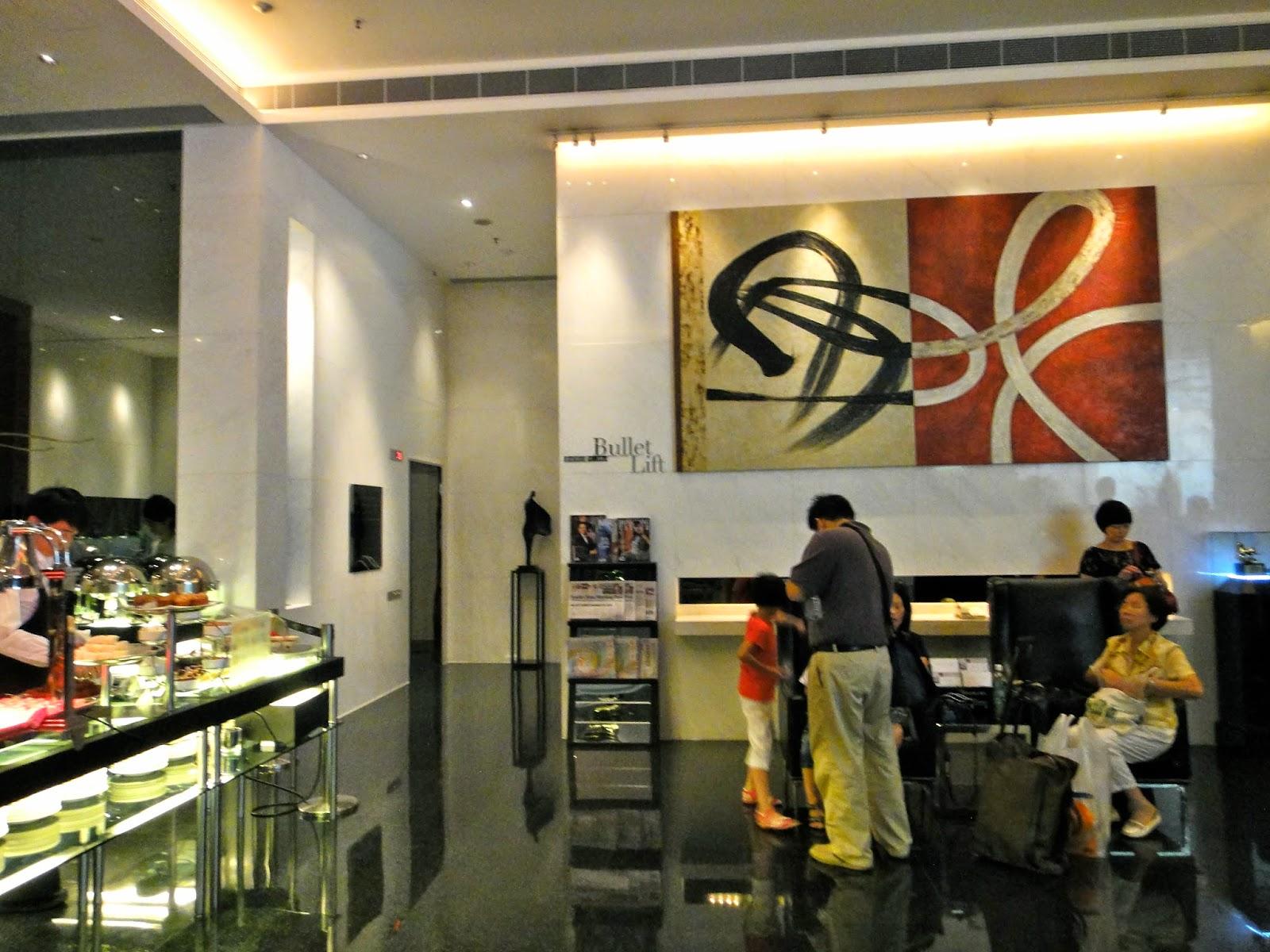 Hotel Panorama Tsim Sha Tsui Lobby Area