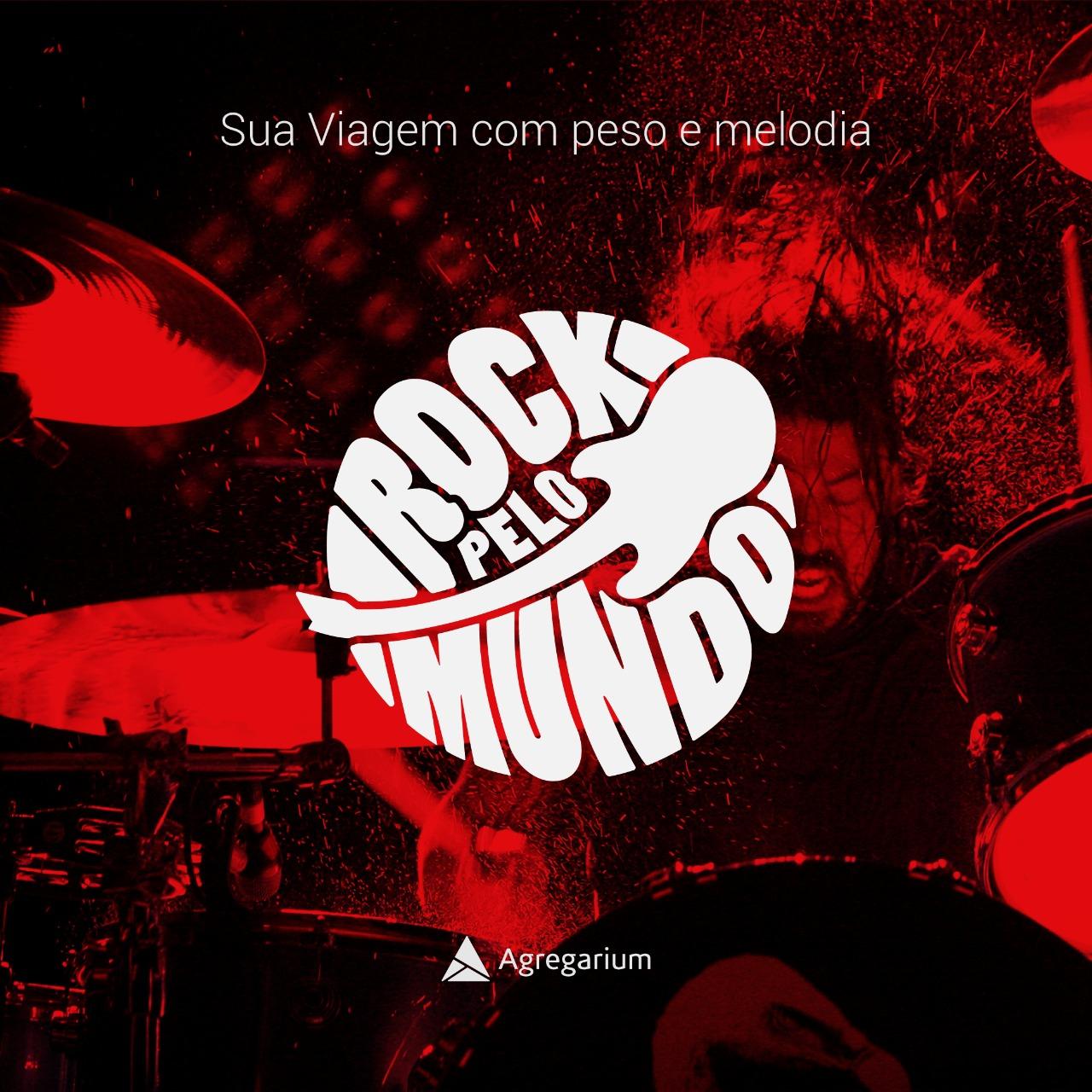 Ouça meu podcast Rock Pelo Mundo, no Agregarium!