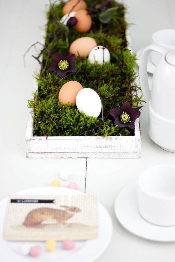 DIY Tischdeko für Ostern