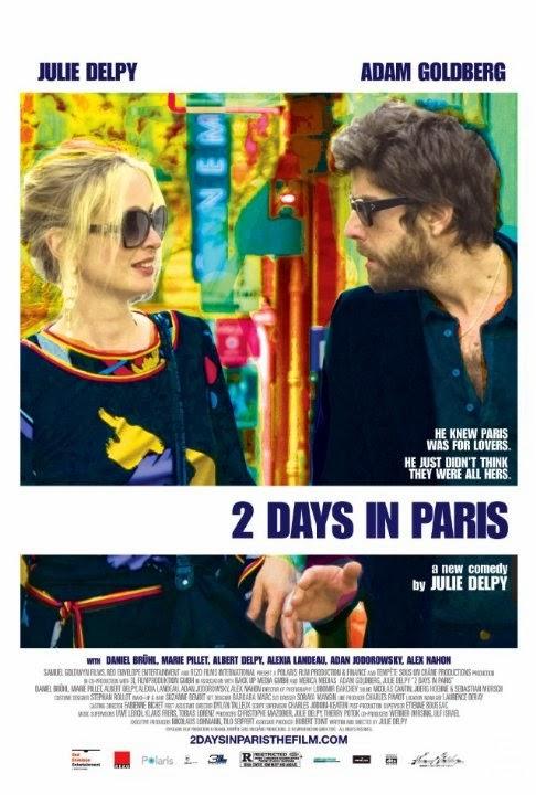 Poster phim Hai ngày ở Paris
