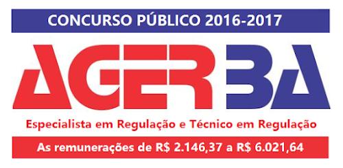 Apostila impressa da AGERBA 2016-2017 - Técnico em Regulação