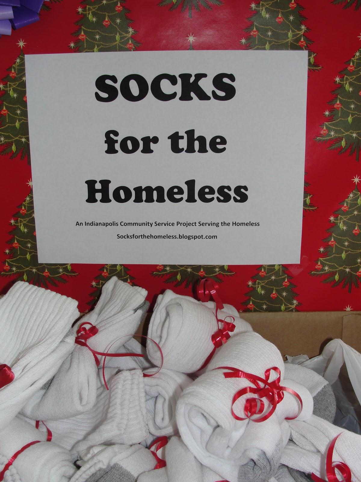 socks for the homeless gift wrapped socks o