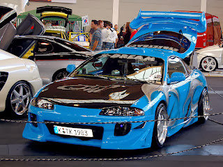 Mitsubishi Eclipse Fast and Furious Wallpapers