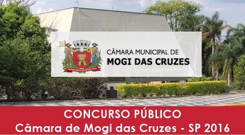 Apostila Concurso Câmara de Mogi das Cruzes SP 2016