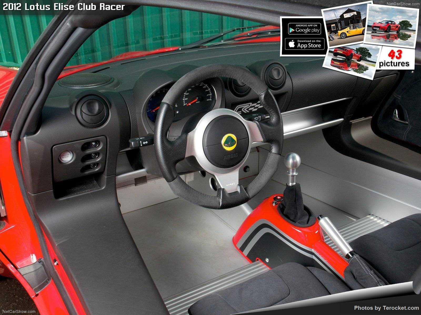 Hình ảnh siêu xe Lotus Elise Club Racer 2012 & nội ngoại thất