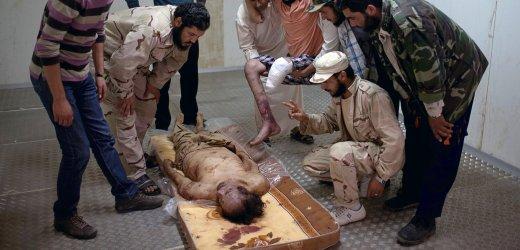 Trup Kadafiego
