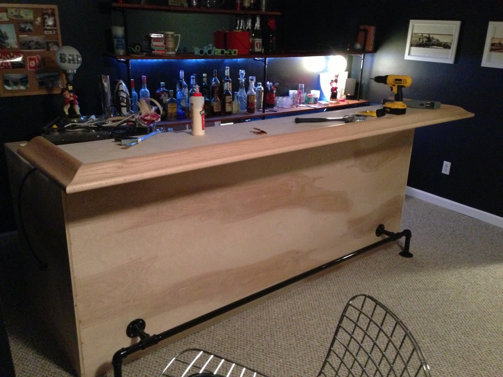 Diy Kitchen Pass Through Bar