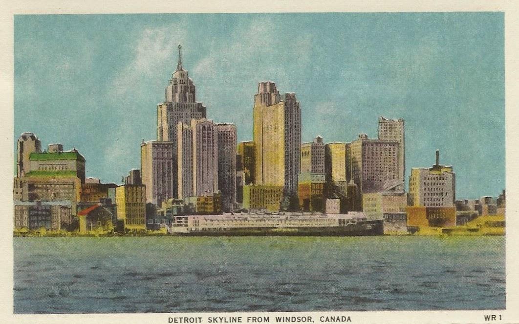 Hoe komen Martha & The Vandella's aan hun bandnaam - Detroit postcard