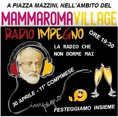 P.ZA MAZZINI - DOMENICA 30/04