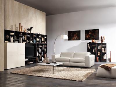 sofá de diseño moderno