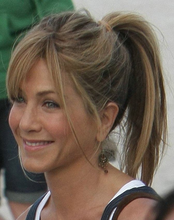 Fashion and Hairstyle: Ponytail hairstyles 02