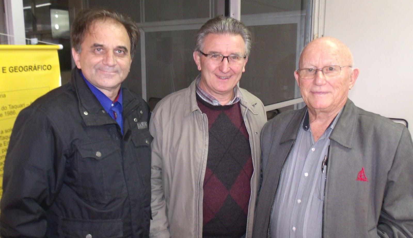 Airton Engster dos Santos, Roque Schwertner e José Alfredo Schierholt