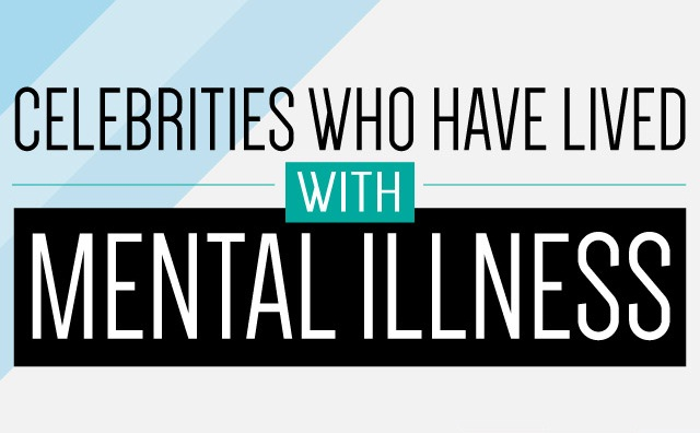 Image: Celebrities Who Have Lived With Mental Illness #infographic