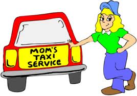 Mom's Taxi Cartoons and Comics - funny pictures from CartoonStock