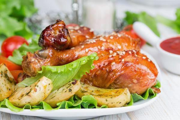 طريقة عمل الدجاج الترياكي