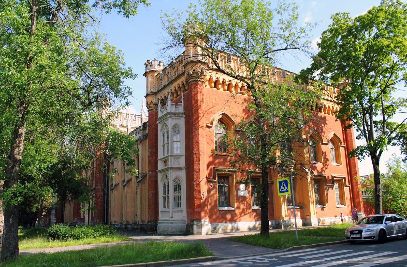 крепостные сооружения, Петергоф