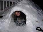 Snow fort!