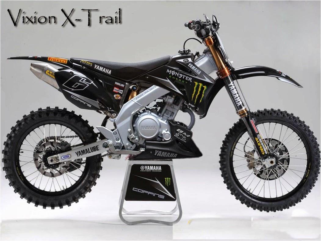 Modifikasi Motor Yamaha Vixion Menjadi Trail Modifikasi Motor