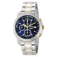 Seiko Men's SNDB05 Two-Tone Stainless Steel