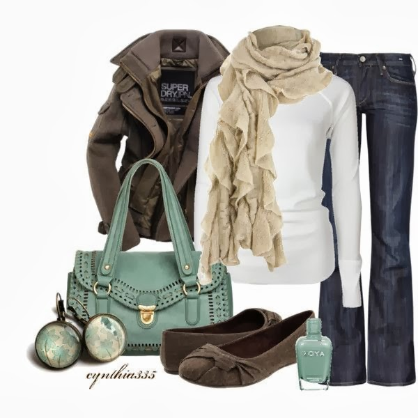 Warm and cute outfit collection for winter