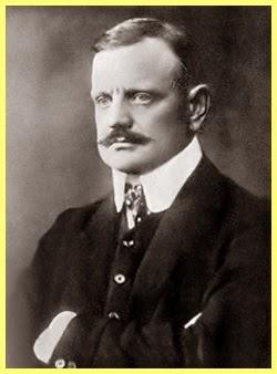 Retrato de Jean Sibelius
