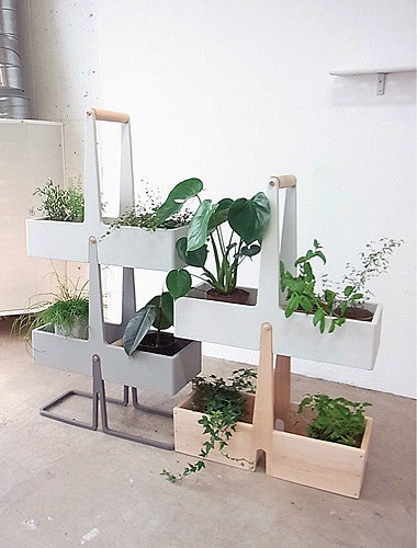 Flower Stand Designs : Creative plant stands and cool designs