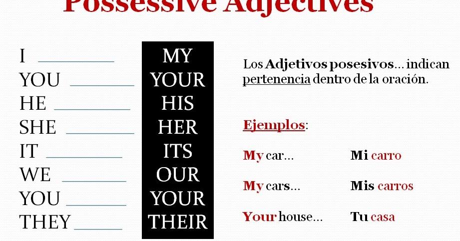 English Class / 1st Semester CBTis : Possessive