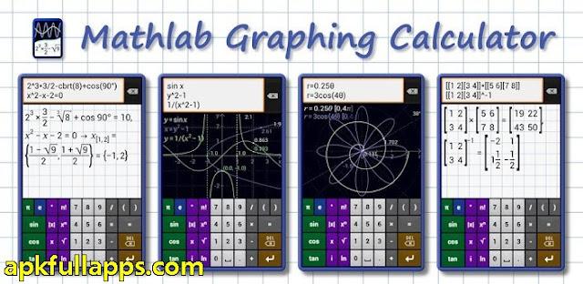 Mathlab Graphing Calculator v2.0.53 Apk Full App